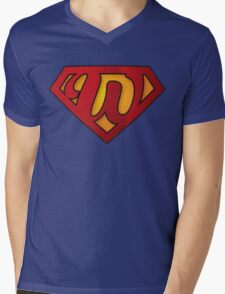Super W Mens V-Neck T-Shirt
