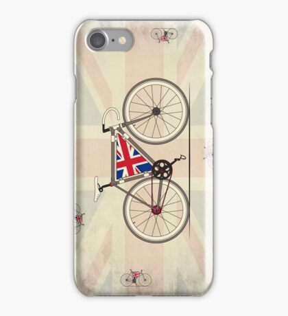 Love Bike, Love Britain iPhone Case/Skin