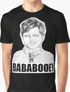 Drunk Ben Wyatt Portrait Graphic T-Shirt
