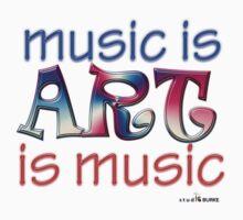 music is ART is music by Studio Burke