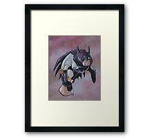 Batmanatee Framed Print