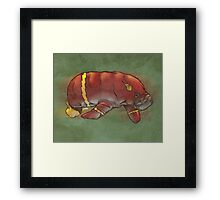 Flash manatee (Flashatee?) Framed Print