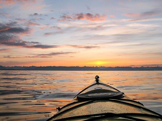 Kajak sunrise by Al Williscroft