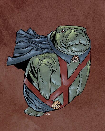 Martian Manatee Hunter SALE! by jomiha