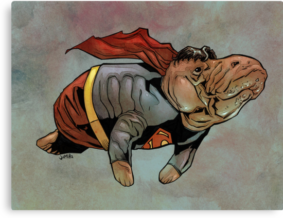 Supermanatee by jomiha