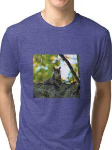 Flirty squirrel  Tri-blend T-Shirt