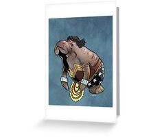 Wonder Womanatee SALE! Greeting Card