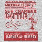 Sun Chamber Battle by OneShoeOff