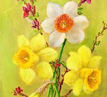 Spring Flowers 2 by Randy  Burns