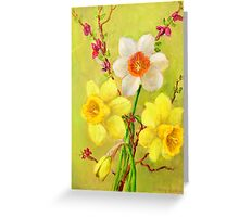 Spring Flowers 2 Greeting Card