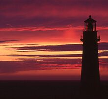 Yaquina Head Sunset by jschwab