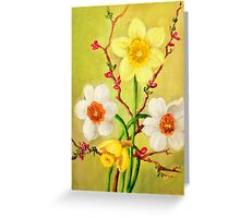 Spring Flowers 1 Greeting Card