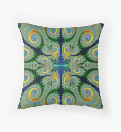 Life From Water Throw Pillow