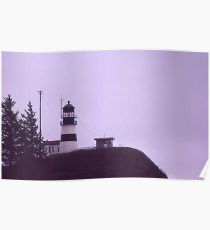 Cape Disappointment Lighthouse - Washington Poster
