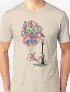 Love to Ride my Bike with Balloons even if it's not practical. Unisex T-Shirt