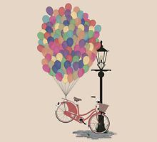 Love to Ride my Bike with Balloons even if it's not practical. Womens Fitted T-Shirt
