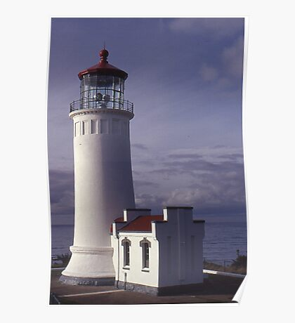 North Head Lighthouse - Washington Poster