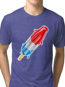 Bomb Pop Cool Summer Treat Tri-blend T-Shirt