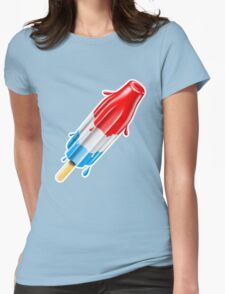 Bomb Pop Cool Summer Treat Womens Fitted T-Shirt