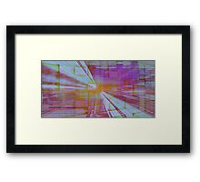 Interchangeable Streaming Framed Print