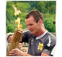 Olympic Flame Poster