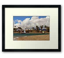 Sailing Back To Havasu Framed Print