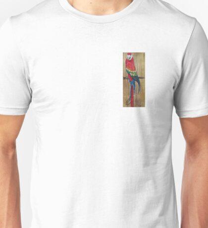 Scarlet Macaw PARROT Unisex T-Shirt