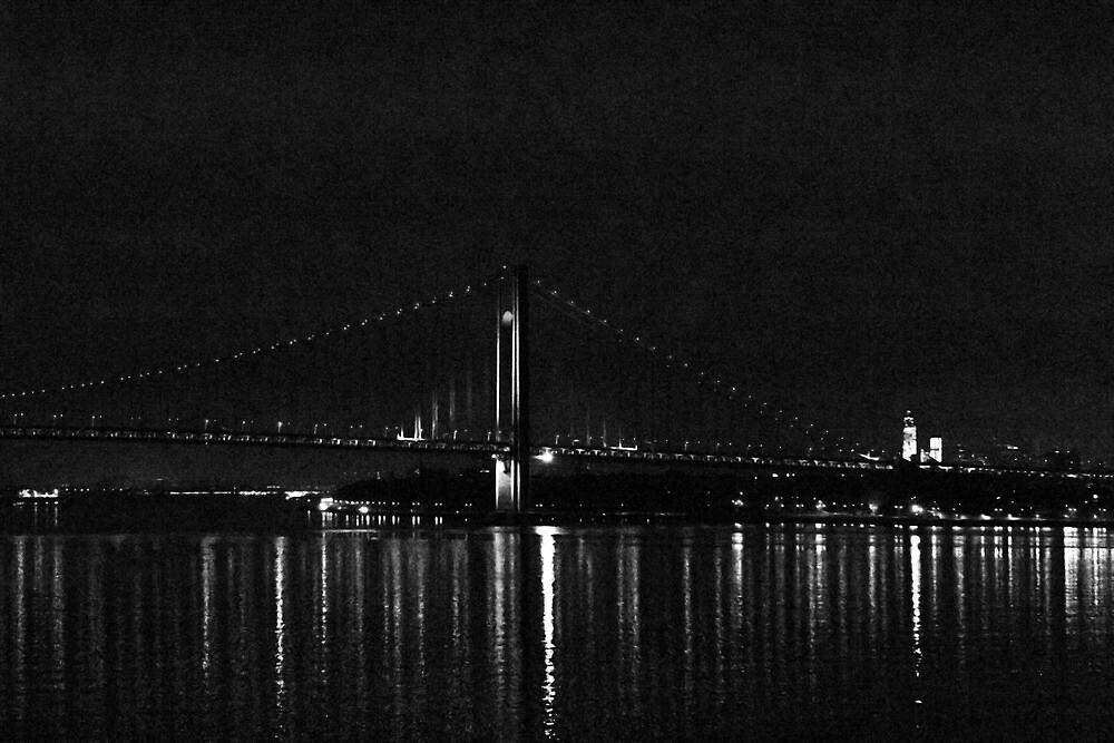 The Verrazano Bridge by photographist