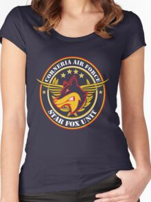 Calling Star Fox Unit Women's Fitted Scoop T-Shirt