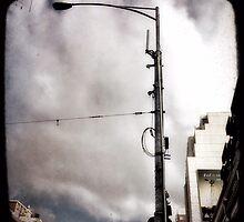 melbourne... fragments: flinders street  by sebastian