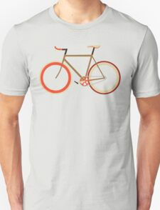 Bike ~ Fixie Warm Fall Colors Unisex T-Shirt