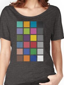 Photographer's Color Checker tee Women's Relaxed Fit T-Shirt