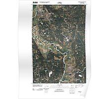 USGS Topo Map Washington State WA Carnation 20110503 TM Poster