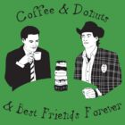 Twin Peaks - Sheriff Harry and Agent Cooper by Alex Kittle