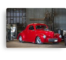 Chris Hickman's Willy's Hot Rod Canvas Print