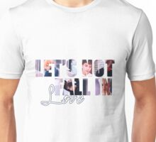 Big Bang - Let's Not Fall in Love Unisex T-Shirt