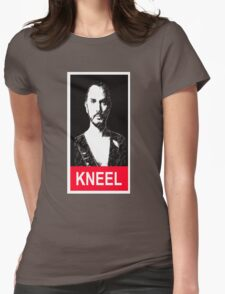 Kneel before Zod Womens Fitted T-Shirt