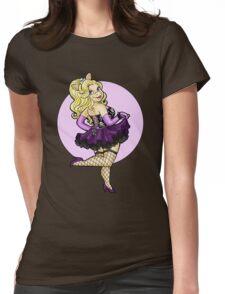 Miss Piggy Pin-up Womens Fitted T-Shirt