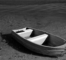 lonely litte boat by SharronS