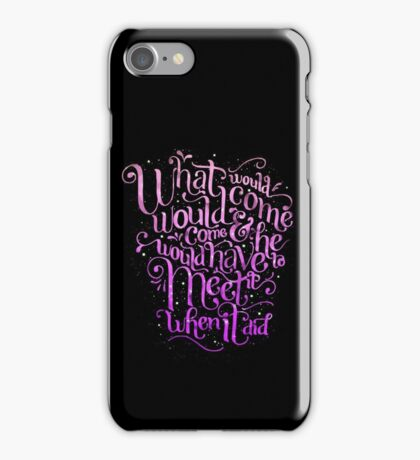 Listen to Hagrid iPhone Case/Skin