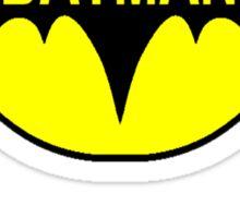 Batty Costume Sticker