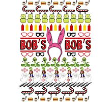 Bob's Burgers Ugly Sweater Photographic Print