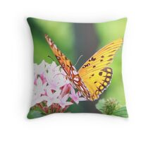 Nectar tasting... Throw Pillow