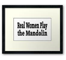 Mandolin Framed Print