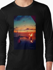 Bali Sunset Flame Long Sleeve T-Shirt