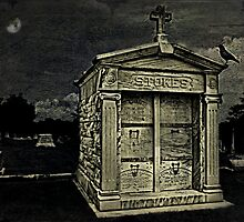 The Crypt, Greenwood Cemetery, Atlanta, Ga. by Scott Mitchell