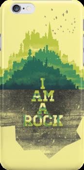I am a rock by Jenny Tiffany