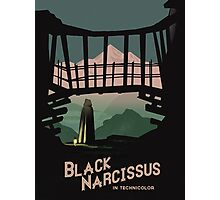 Black Narcissus Photographic Print