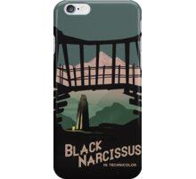Black Narcissus iPhone Case/Skin