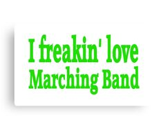 Marching Band Canvas Print